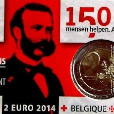 Euros: 2 EUROS CONMEMORATIVOS AÑO 2014 BELGICA. Lote 184872738