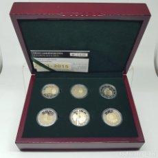 Euros: LUXEMBURGO ESTUCHE OFICIAL 6 X 2 EURO CONM. 2013-2015 PROOF - SOLO 2.500. Lote 187370017