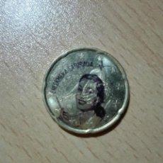 Euros: MONEDA 20 EURO CENT - ESPAÑA - PUBLICIDAD / ENFERMERA SATURADA (ADHESIVO) - LITERATURA SANIDAD SALUD. Lote 188526013