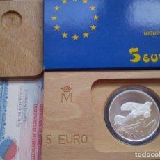 Euros: 5 EUROS 1997. JUAN CARLOS I. HOMENAJE A LA AVIACION ESPAÑOLA. PLATA. Lote 189216011