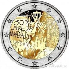 Euros: ALEMANIA 2 EUROS 2019 -CAIDA MURO BERLIN- ENCAPSULADA. Lote 189541448