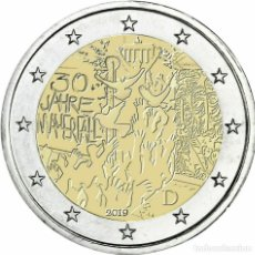 Euros: ALEMANIA 2019 2€ 30 AÑOS DE LA CAÍDA DEL MURO DE BERLÍN. Lote 189670340