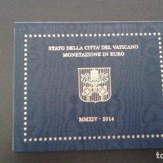 Euros: VATICANO 2014 -ESTUCHE OFICIAL- PAPA FRANCISCO. Lote 43115409