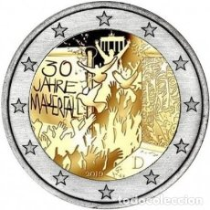 Euros: ALEMANIA 2 EUROS 2019 -CAIDA MURO BERLIN- ENCAPSULADA. Lote 190556381