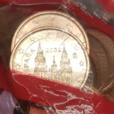Euros: ESPAÑA 5 CÉNTIMOS EURO CENT 1ST TYPE 2002 KM 1042 SC UNC. Lote 190596457