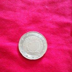 Euros: 20 EUROCENT MALTA 2008. Lote 190935481