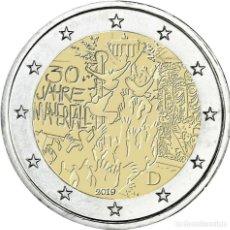 Euros: ALEMANIAL 2 EUROS 2019 CONM. 30 AÑOS CAIDA MURO DE BERLÍN- SIN CIRCULAR -. Lote 191239986