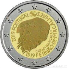 Euros: PORTUGAL 2 EUROS 2019 CONM. FERNANDO MAGALLANES - SIN CIRCULAR -. Lote 191240092