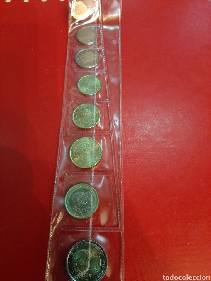 2001 ESPAÑA SERIE 8 MONEDAS EUROS (Numismática - España Modernas y Contemporáneas - Ecus y Euros)