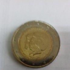 Euros: MONEDA DE HOLANDA DE 2 EUROS DEL AÑO 2013 ABDICACION REINA MARGARITA. Lote 191352760