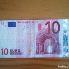 Euros: BILLETE 10 EURO 2002. Lote 191708438