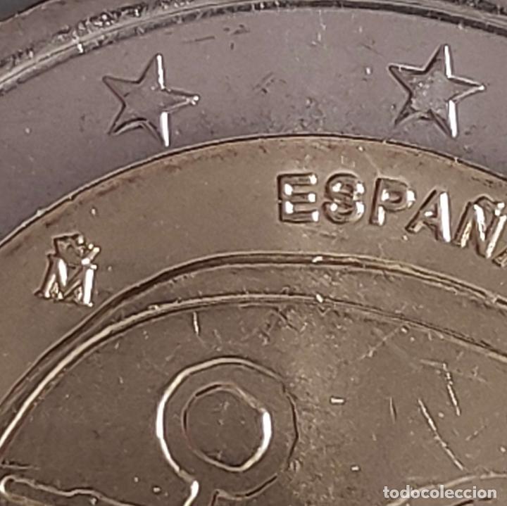 Euros: Moneda de 2 € cc España 2009, UME, error CECA EMPASTADA - Foto 2 - 255558470