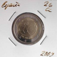 Euros: MONEDA DE 2 € CC ESPAÑA 2009, UME, ERROR CECA EMPASTADA. Lote 255558470