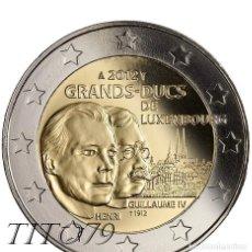 Euros: LUXEMBURGO 2 EUROS 2012 GRANDES DUQUES HENRI Y GUILLAUME IV. Lote 260323020
