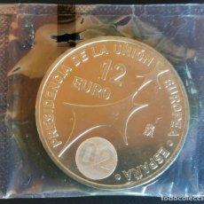Euros: MONEDA 12 EUROS PLATA 2002 S/C EN BOLSA ORIGINAL FNMT. Lote 192993443