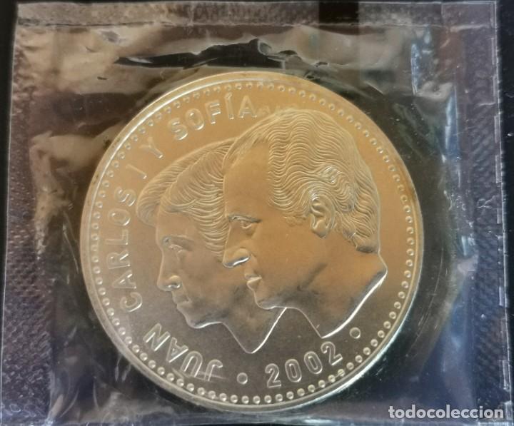 Euros: MONEDA 12 EUROS PLATA 2002 S/C EN BOLSA ORIGINAL FNMT - Foto 2 - 192993443