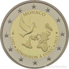 Euro: 2 EUROS CONMEMORATIVA MONACO 2013 ONUSC. Lote 218920312