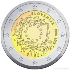 Euros: 2 EUROS CONMEMORATIVA ESLOVENIA 2015 BANDERA EU SC. Lote 269950798
