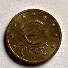 Euros: PRUEBA DE 20 CENT DE EURO- FNMT. Lote 193350685