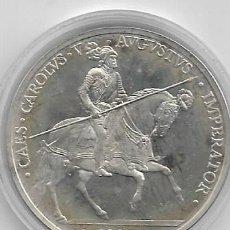 Euros: 5 ECUS DE PLATA DE 1989 DE CARLOS V. Lote 193958220
