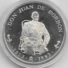 Euros: MONEDA DE 5 ECUS DE JUAN DE BORBON DEL 1993. Lote 193959848