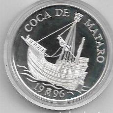 Euros: 5 ECUS DE PLATA DE COCA DE MATARO DEL 1996. Lote 193961277