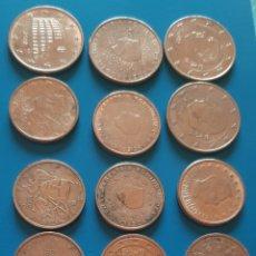Euros: MONEDAS LOTE DE 5 CÉNTIMOS 2 CÉNTIMOS Y 1 CÉNTIMOS DE DIFERENTES PAÍSES.. Lote 194068966