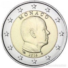 Euros: 2 EURO MONACO 2016 PRINCIPE ALBERTO. Lote 194207512