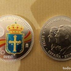 Euros: MONEDA DE 30 EUROS 1300 ANIVERSARIO PRINCIPADO DE ASTURIAS - S/C - PLATA, ESPAÑA 2018. Lote 194228923