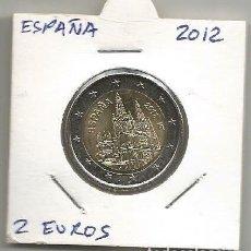 Euros: MONEDA DE ESPAÑA MONEDA CONMEMORATIVA 2 EUROS 2012 SC CATEDRAL DE BURGOS. Lote 194252947