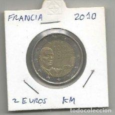 Euros: MONEDA DE FRANCIA 2 EUROS CONMEMORATIVOS 2010. Lote 194252990