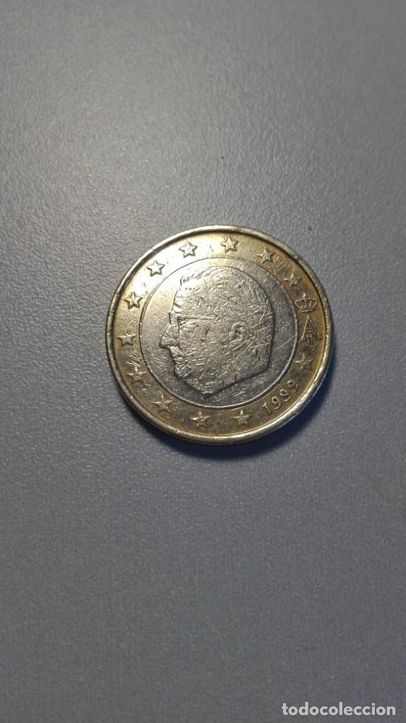 MGS - MONEDA 1 € BÉLGICA 1999 CURSO NORMAL MBC (Numismática - España Modernas y Contemporáneas - Ecus y Euros)
