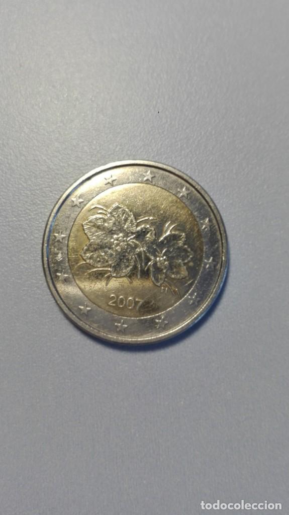MGS - MONEDA DE 2 € DE FINLANDIA 2007 RARA Y DIFÍCIL EBC - (Numismática - España Modernas y Contemporáneas - Ecus y Euros)