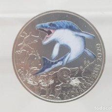 Euros: AUSTRIA 3 EUROS 2020 HGH - MOSASAURUS HOFFMANNI - SUPERSAURIOS. Lote 194591788