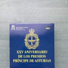 Euros: XXV ANIVERSARIO PRINCIPE DE ASTURIAS 10€ PLATA. Lote 194621300