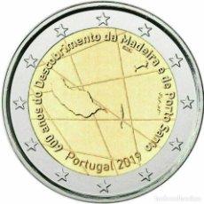 Euros: 2019 PORTUGAL 600 AÑOS DEL DESCUBRIMIENTO DE LA ISLA DE MADEIRA. Lote 194654088