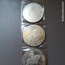 Euros: 3 MONEDAS DE 5 ECU DIFERENTES AÑOS. 1989 (2) Y 1994 (1). Lote 194695367