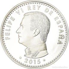 Euros: ESPAÑA, 10 EURO, 70 ANS DE PAIX EN EUROPE, 2015, PROOF, FDC, PLATA. Lote 194711703