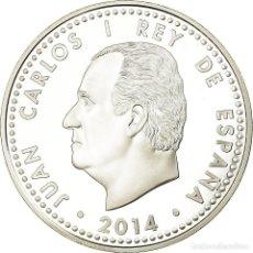 Euros: ESPAÑA, 10 EURO, MANUEL DE FALLA, 2014, PROOF, FDC, PLATA. Lote 194712121