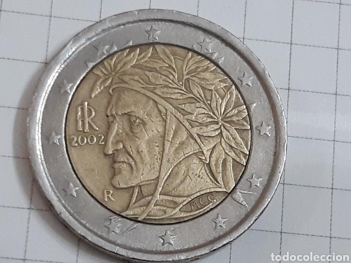 Euros: 2 euros italia 2002 dos monedas - Foto 2 - 194879377