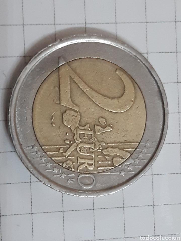 Euros: 2 euros italia 2002 dos monedas - Foto 3 - 194879377