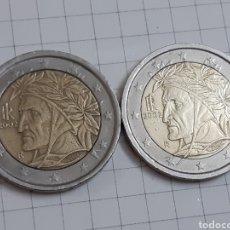 Euros: 2 EUROS ITALIA 2002 DOS MONEDAS. Lote 194879377