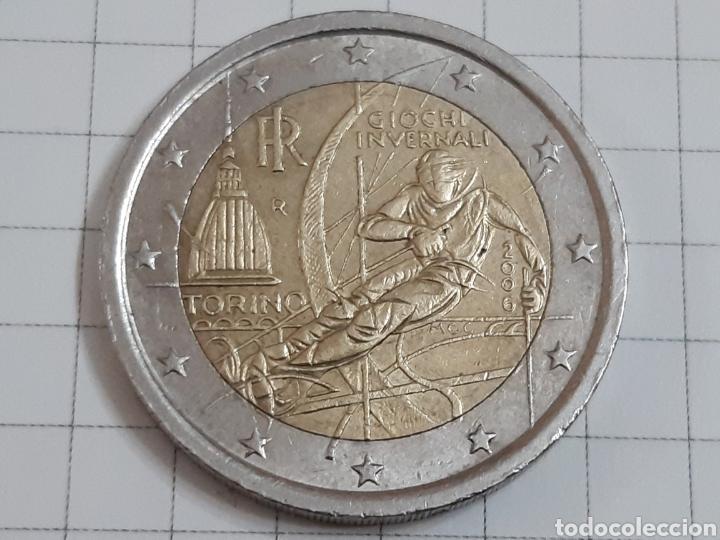 Euros: 2 euros italia 2006 - Foto 2 - 194881433
