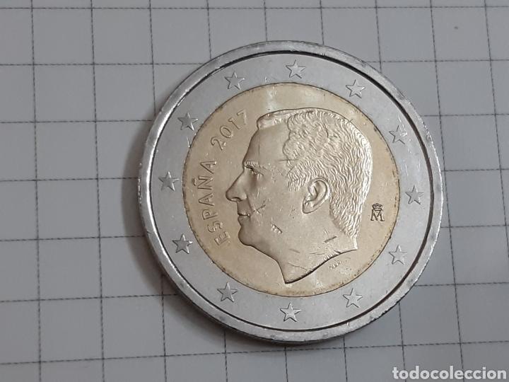 Euros: 2 euros españa 2017 sin circular - Foto 2 - 194883112
