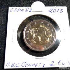 Euros: MONEDA 2 EUROS ESPAÑA 2015-CONMEMORATIVA. Lote 194916138
