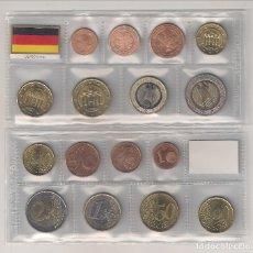 Euros: TIRAS DE LAS MONEDAS DE EURO DE ALEMANIA DEL AÑO 2004. TODAS LAS CECAS. SIN CIRCULAR.. Lote 194916890