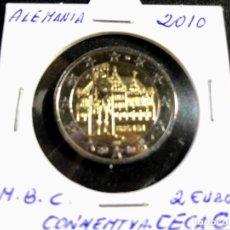 Euros: MONEDA 2 EUROS ALEMANIA 2010-CONMEMORATIVA-CECA G. Lote 194917107