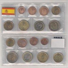 Euros: TIRA DE LAS MONEDAS DE EURO DE ESPAÑA DEL AÑO 2009. SIN CIRCULAR.. Lote 194930386