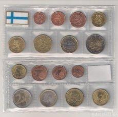 Euros: TIRA DE LAS MONEDAS DE EUROS DE FINLANDIA AÑO 2001. SIN CIRCULAR. . Lote 194945313