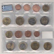 Euros: TIRA MONEDAS DE EUROS DE GRECIA (SIN CECA) AÑO 2006. SIN CIRCULAR.. Lote 194950673